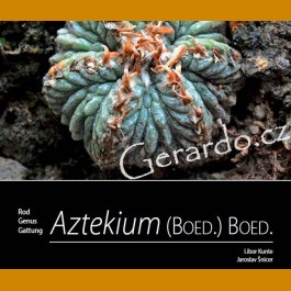 ! BRAND NEW PUBLICATION! L. Kunte, J. Šnicer (2019) Genus Aztekium. - ENGLISH VERSION